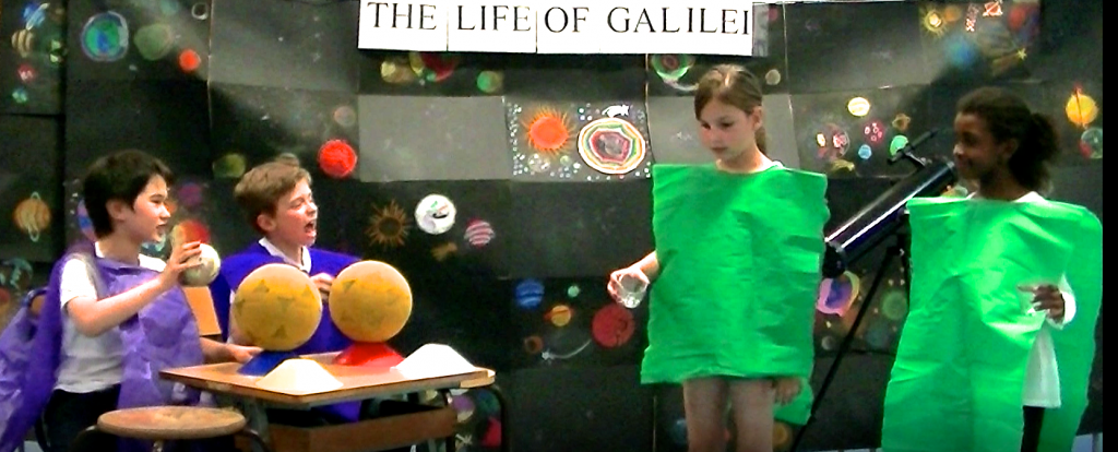 l'incroyable révolution copernicienne du XVII siècle, à travers le vie de Galilée